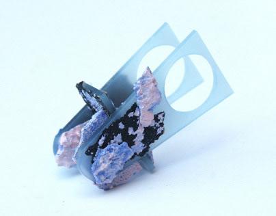 "Contemporary Jewelry ""Cielo volcánico"" I"
