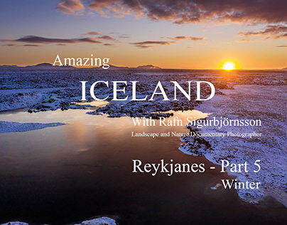 Amazing Iceland - Reykjanes Landscape Part 5 - Winter