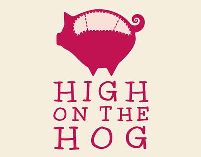High on the Hog - Logo