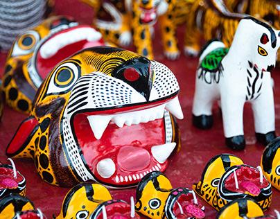 El Trueque. San Pedro Cholula. Clickeando por México.