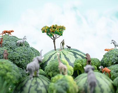 Food Art For Forest Watchmen