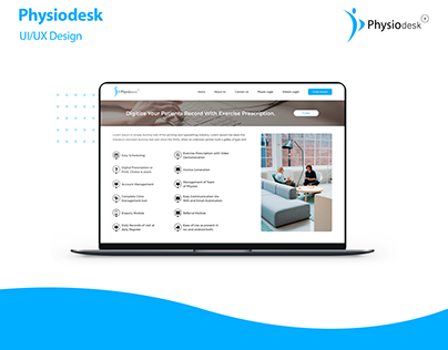 Physiodesk | UI/UX & Development