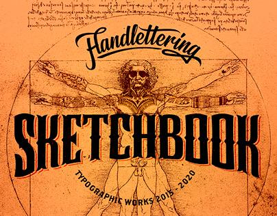 Handlettering Sketchbook 2015-2020