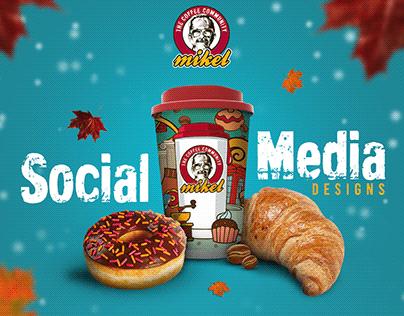 Mikel Coffee Hamilton - Social Media Designs