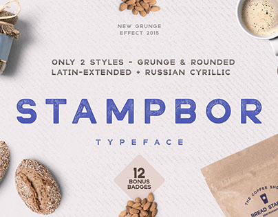 Stampbor Vintage Typeface Free Download