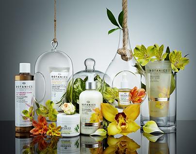 Botanics cosmetics composition