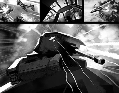Storyboard BATTLE OF STALINGRAD cinematic IL-2Sturmovik