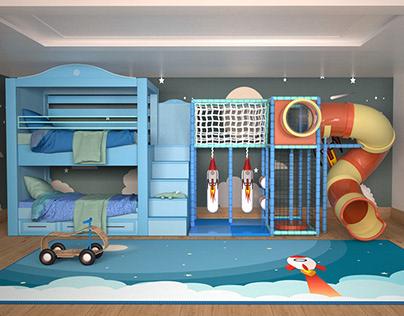 Bedroom / Playroom Goals
