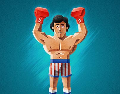 Rocky Illustration