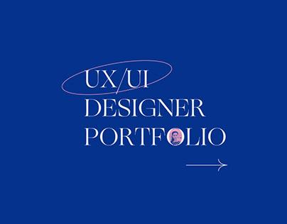 UX/UI DESIGNER PORTFOLIO WEBSITE