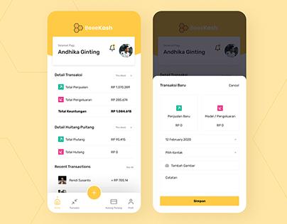 Financial Application UI Design