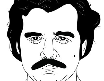 Pablo Escobar   NARCOS   Illustration