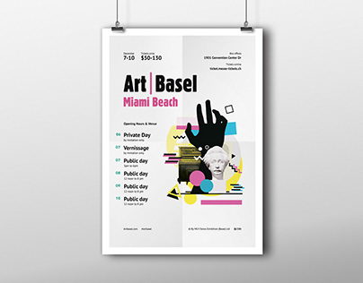 Poster / Afisha — Art Basel Miami Beach Program