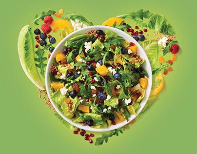 Boudin SF Spring Salad Promotion