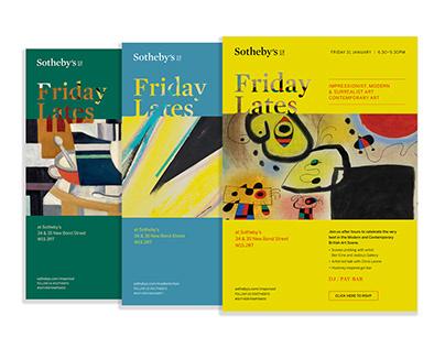 Sotheby's Friday Lates Creative