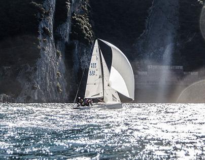 Sailing Lake Garda, Italy