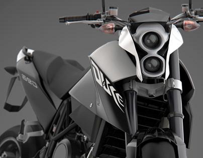 KTM Duke 690 III - Full CGI