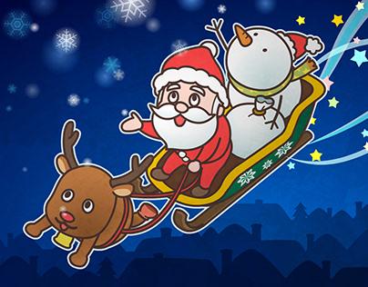 """Fashionable Santa"" MUSIC VIDEO"