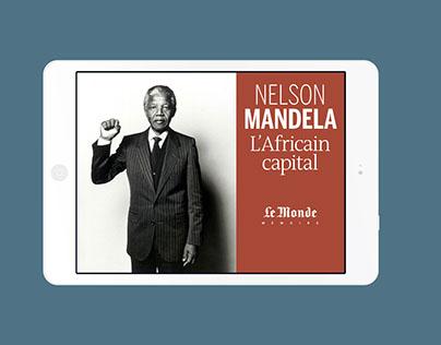 Application Nelson Mandela