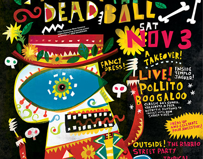 Mexican Night of the Dead Ball