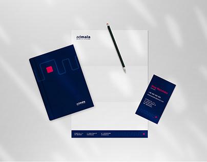 Brand Identity for IoT Company Ad Mala
