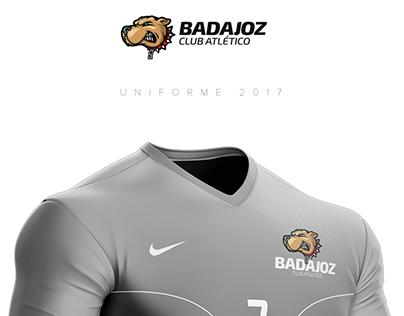 Uniforme Futbol Badajoz 2017-2018