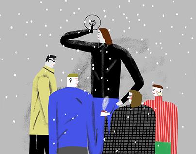 Christmas card / 2015