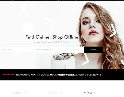E-Commerce Theme in Progress