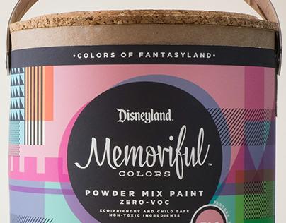 Memoriful Colors // Disneyland House Paints