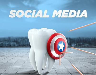 "2020 ""Sadaf Dental Clinic"" social media design"