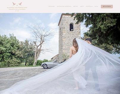 Website and Branding Design for a Wedding Planner