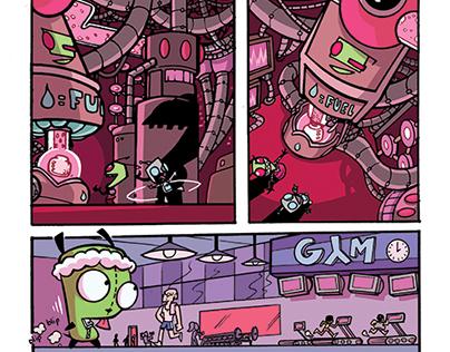 Invader Zim #13 Comic by Jarrett Williams (Oni Press)