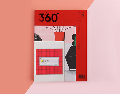 Design 360° Magazine No.79 Illustration and Media