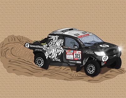 Benediktas Vanagas - Dakar rally