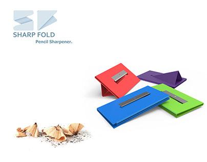 SHARP FOLD pencil sharpener.