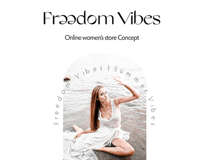 Online women's store Concept - Freedom Vibes