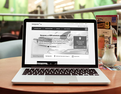 Redesign of neopost.fr | Supplier of mailing solutions