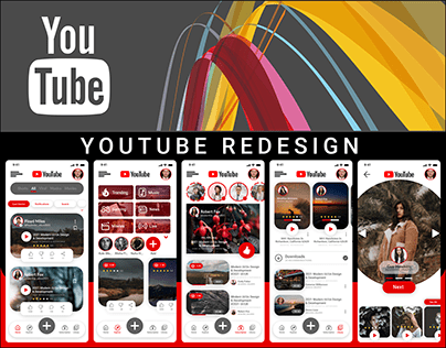 YOUTUBE MOBILE APPLICATION REDESIGN