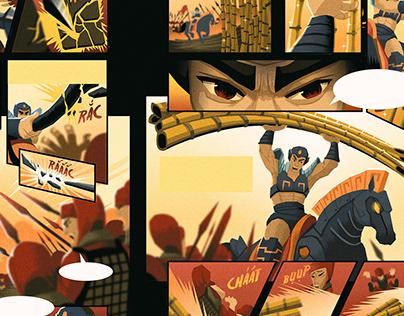 Van Tich (Once Upon)⭐ Vietnam's Foltales Comics