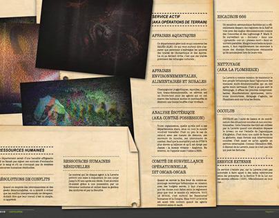 Encyclopédie de La Laverie (livre-univers)