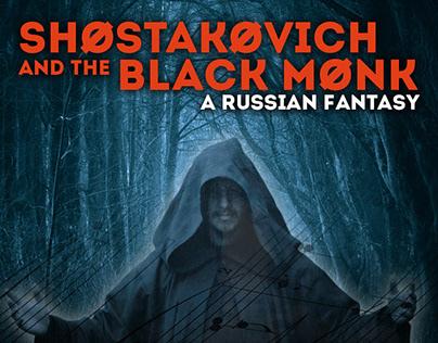 Shostokovich and the Black Monk postcard