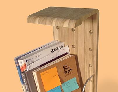 Case Desk Storage