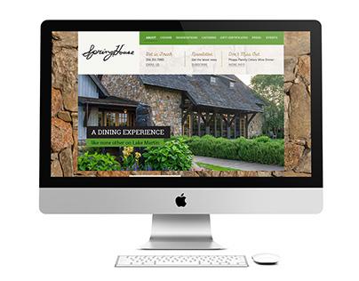 SpringHouse Web Redesign