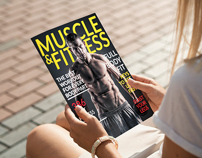 MUSCLE & FITNESS MAGAZINE COVER DESIGN