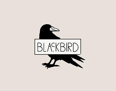 Blackbird Pizza Shop Branding