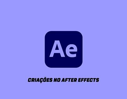 Criações no After Effects