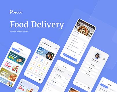 Food Delivery Mobile App POTOCO