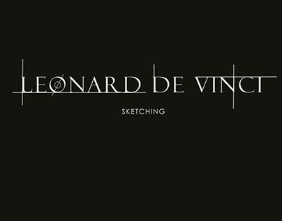 Sketching Leonard De Vinci