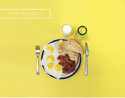 Breakfast Evolution Infographics