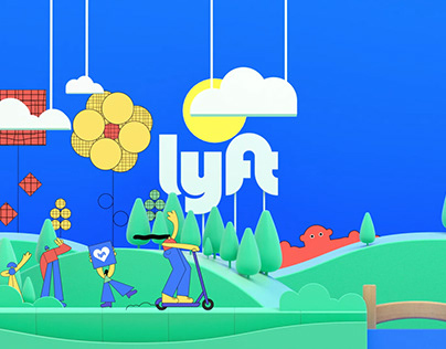 Lyft // Logo Animation